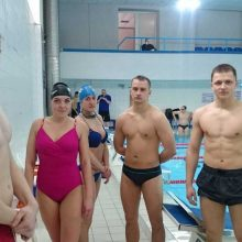 Policijos plaukimo pirmenybėse – Lietuvos policijos mokyklos kursanto triumfas