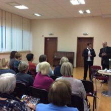 Bibliotekoje skambėjo Lietuvos šimtmečio muzika kartu su muzikologu V. Gerulaičiu