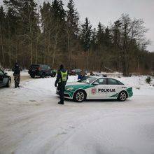 Medieną Pietų Lietuvoje nevengiama gabenti pažeidžiant taisykles