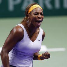 JAV teniso žvaigždės S. Williams vestuvės sukėlė šurmulį