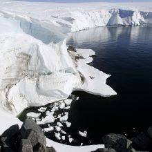 Amerikietis tapo pirmuoju Antarktidą be pagalbos skersai kirtusiu žmogumi