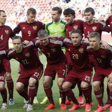 Rusija bus žemiausio reitingo komanda pasaulio futbolo čempionate