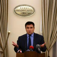 """Ukrainos ministras: nutiesus """"Nord Stream 2"""", Rusija pradės naują dujų karą"""