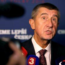 A. Babišas: jei Austrija ir Vokietija neįsileis migrantų, Čekija darys tą patį