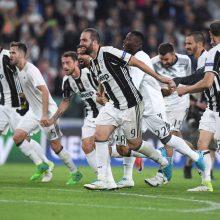 """Turino """"Juventus"""" pateko į Čempionų lygos finalą"""
