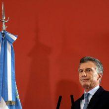 Teisėja: Argentinos prezidentas nėra atsakingas dėl povandeninio laivo žūties
