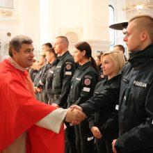 Priesaikų žodžius keitė tvirti Kauno pareigūnų žodžiai: Tėvynės labui