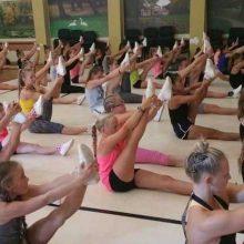 Aerobinės gimnastikos mėgėjus į treniruotes paskatino  pažvelgti naujomis akimis