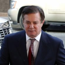 JAV teismas pradėjo nagrinėti buvusio D. Trumpo kampanijos vadovo bylą