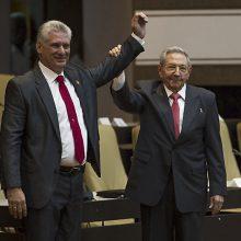 R. Castro perdavus valdžią M. Diazui-Caneliui Kuba žengė į naują politinę erą