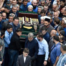 Maskvoje palaidoti CAR nužudyti žurnalistai