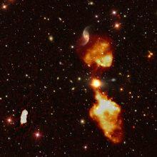 Naujame Visatos žemėlapyje – 300 tūkst. naujai atrastų galaktikų