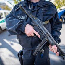 Vokietijos policija apsupo dalį Chemnico dėl sprogimo grėsmės