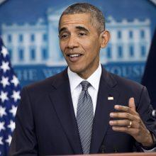 B. Obama liepą PAR skaitys N. Mandelos fondo paskaitą