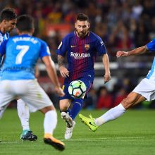"""""""La Liga"""": """"Sevilla"""" sutriuškinta Valensijoje, """"Barcelona"""" taškų nebarstė"""