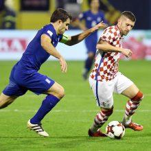 Kroatiją ir Šveicariją nuo pasaulio čempionato skiria plonytė linija