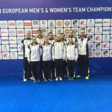 Lietuvos badmintono rinktinės nesėkmėmis pradėjo Europos čempionatą
