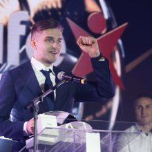 Geriausias Lietuvos futbolininkas F. Černychas: maniau, kad laimės A. Novikovas