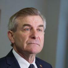 V. Pranckietis: jei M. Bastys grįžtų į Seimą, man būtų gėda
