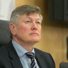 Buvęs Seimo pirmininkas A. Paulauskas kandidatuos į Europos Parlamentą