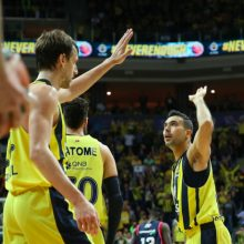 """Fenerbahce"" komanda nugalėjo ""Real"" krepšininkus"
