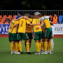 Lietuvos jaunimo futbolo rinktinė nugalėjo bendraamžius iš Suomijos
