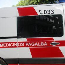 Per avariją Telšių rajone sužeisti keturi žmonės
