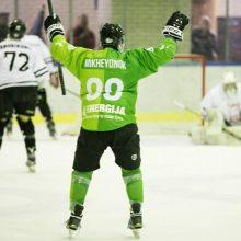 """""""Kaunas Hockey"""" ledo ritulininkai paskutinę minutę išplėšė pergalę Vilniuje"""