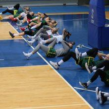 Lietuvos moterų krepšinio rinktinė atvyko į Rusiją