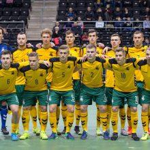 Baltijos salės futbolo taurės turnyro starte - lietuvių ir estų lygiosios