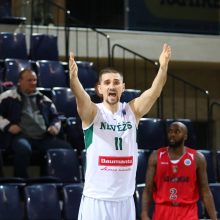 """""""Nevėžis"""" prarado viltis patekti į FIBA Europos taurės aštuntfinalį"""
