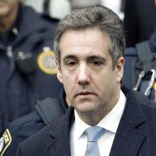 Buvęs D. Trumpo advokatas M. Cohenas nuteistas trejų metų laisvės atėmimo bausme