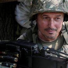 Ukrainos kariuomenė Donbase numušė separatistų bepilotį orlaivį