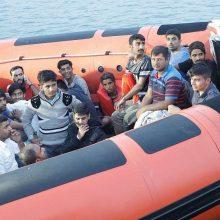 Kodėl drastiškai sumažėjo migrantų, plaukiančių į Italiją, skaičius