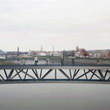 Susipažinkite: dviejų pėsčiųjų tiltų per Nemuną Kaune projektas