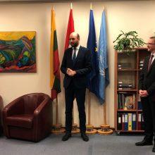 Ženevoje atidarytas Lietuvos konsulatas