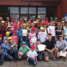 Alantoje stovyklauja Rusijos lietuvių vaikai