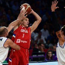 Serbija tapo paskutine Europos čempionato pusfinalio dalyve