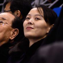 Kim Jong Uno sesuo išvyko iš Pietų Korėjos
