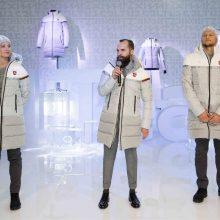 2018 m. žiemos olimpinių žaidynių aprangoje – ne tik balta spalva