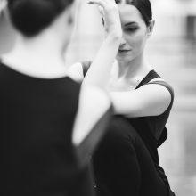 Šokėja ir choreografė A. Krasauskaitė: man lengviau šokti nei kalbėti