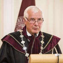 VDU Garbės profesorius Z. Lydeka: didžiausias įvertinimas – žmonės
