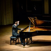 Vilniečius pakerėjęs pianistas ruošia dar du nepamirštamus pasirodymus