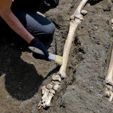 Pompėja: archeologai rado naują išsiveržusio ugnikalnio auką