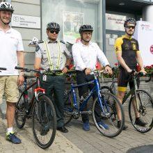 Eksperimentas Vilniaus gatvėse – ar keisime KET nuostatas dėl dviračių lenkimo?
