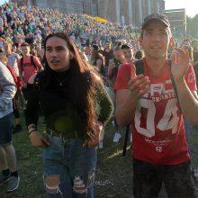 """Po Kauno """"Žalgirio"""" pergalės – kauniečiai euforijoje"""