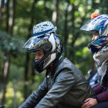 Motociklininkai griausmingai uždarė sezoną