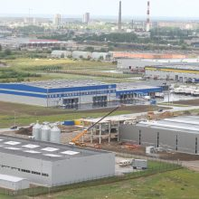 """""""Lavango Group"""" už 1,5 mln. eurų uostamiestyje stato gamyklą"""