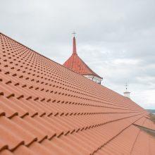 Galimybės: naujame stoge įrengti langai atveria vaizdą į Kauno senamiestį.