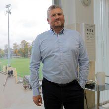V.Trumpickas, Lietuvos vyrų krepšinio rinktinės gydytojas, tikisi, kad Lietuvos futbolo federacijos Sporto medicinos centras šiemet pradės veikti.